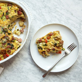 Food & Wine: Country Ham Breakfast Strata