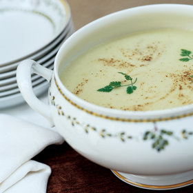 Food & Wine: Creamy Leek and Potato Soup