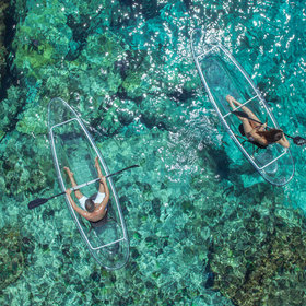 Food & Wine: These Transparent Kayaks Give You Incredible Views of the Ocean While You Paddle