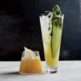 "Food & Wine: Cucumber-and-Mint ""Fauxjito"""
