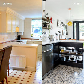 Food & Wine: Before and After: How a Narrow Kitchen Was Transformed Without an Extension