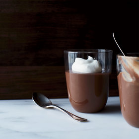 Food & Wine: Dark Chocolate Pudding