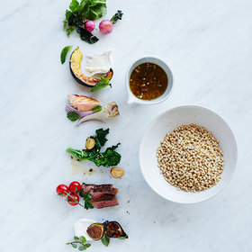 Food & Wine: DIY: Barley Salad
