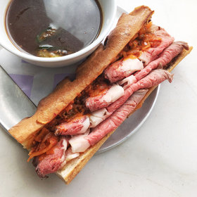 Food & Wine: How Dominique Ansel Does a French Dip