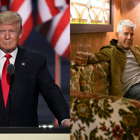 Food & Wine: Anthony Bourdain: Imagine Donald Trump Trying to Handle Chopsticks with