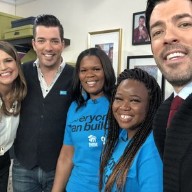 mkgalleryamp; Wine: 'Property Brothers' Team Up with Habitat for Humanity to Build Two Nashville Moms New Homes