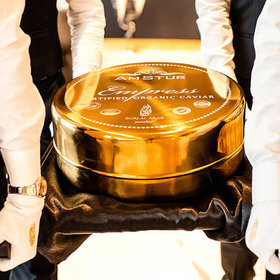 Food & Wine: World's Largest Tin of Caviar Premiered at the World's Most Luxurious Hotel