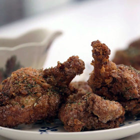 Food & Wine: Duck Fat–Fried Chicken with Piquillos Ketchup