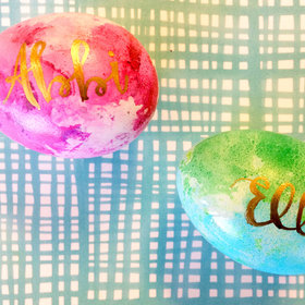 Food & Wine: Dress Up Your Easter Table With This Easy DIY Placecard Project