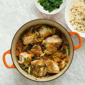 Food & Wine: Easy Braised Chicken with Kimchi
