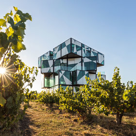 Food & Wine: That Crazy Rubik's Cube-Like Wine Tasting Room Is Finally Open (and Here's the Video to Prove It)