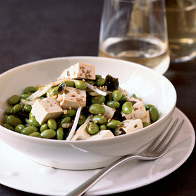 Food & Wine: Edamame with Tofu, Bean Sprouts and Seaweed