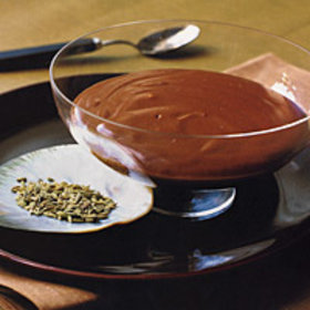 Food & Wine: Chocolate Fennel Pudding