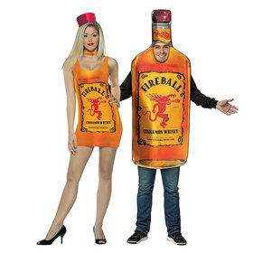 Food & Wine: You Can Dress Like a Bottle of Fireball Whiskey This Halloween