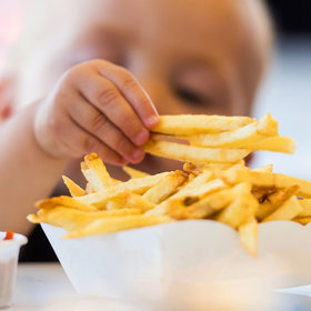 Food & Wine: A Toddler Takes Her First Steps In the Name of a French Fry
