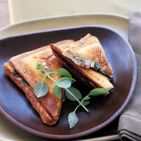 Food & Wine: Four Cheese Panini