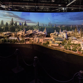 Food & Wine: Disney Reveals Detailed Model of the Upcoming Star Wars Land