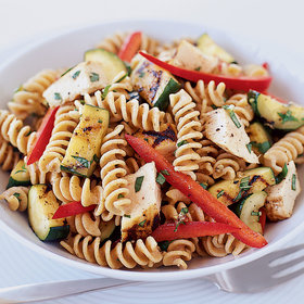 Food & Wine: Fusilli Salad with Grilled Chicken and Zucchini
