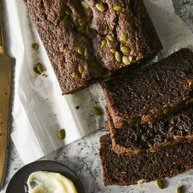 Food & Wine: Chocolate Zucchini Bread with Pepitas