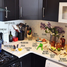 """Food & Wine: Inside a Food & Wine Editor's Real Kitchen: 17 Essential Tools to Make Your Kitchen Your """"Happy Place"""""""