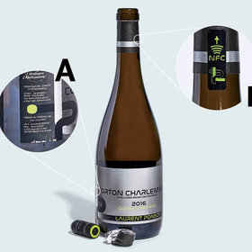 Food & Wine: This High-Tech Wine Bottle Fights Fraud