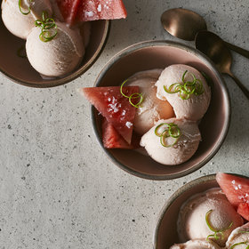 Food & Wine: Salted Watermelon Ice Cream