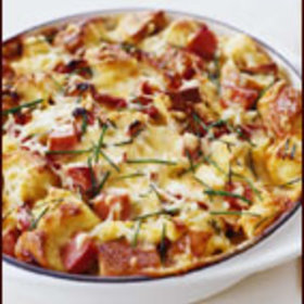 Food & Wine: Ham and Cheese Strata
