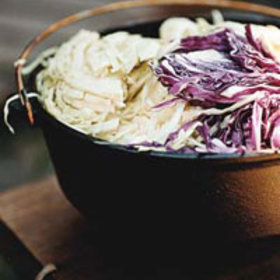 Food & Wine: Crunchy Coleslaw with Cayenne and Toasted Caraway Seeds
