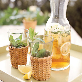 Food & Wine: Minty Lemon Iced Tea