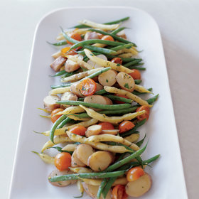 Food & Wine: Summer Vegetable and Potato Salad with Anchovy Dressing
