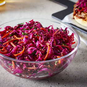 Food & Wine: Quick Red Cabbage Slaw