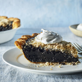 Food & Wine: Shoofly Pie with Bourbon-Spiked Whipped Cream