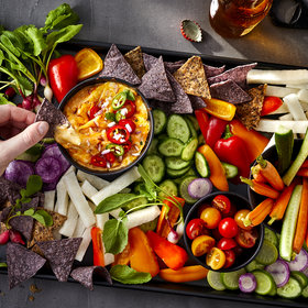 Food & Wine: Nacho Snack Dinner with Sweet Potato Queso