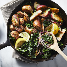 Food & Wine: Sausage, Kale, and Potato Skillet Supper