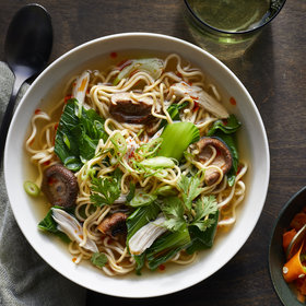 Food & Wine: Leftover Roast Turkey and Chinese Egg Noodle Soup