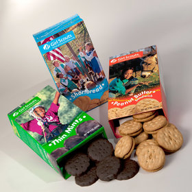 Food & Wine: This Grocery Store Was Doing Something It Shouldn't Have with Girl Scout Cookies