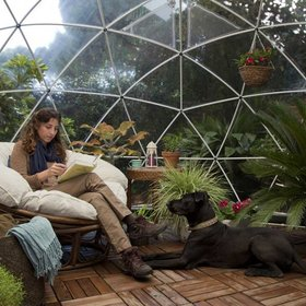 Food & Wine: This Stunning Garden Dome Is Perfect for Backyard Glamping