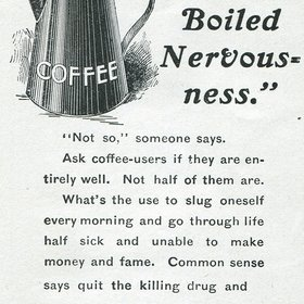 Food & Wine: This Ad From the 1800s Might Be the Reason Why Some People Still Think Coffee Is Unhealthy Today