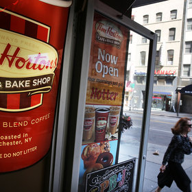 Food & Wine: Tim Hortons Thinks the World Needs a Latte Flavored Like Buffalo Wings