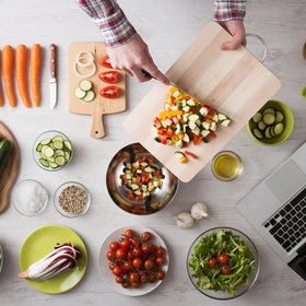 Food & Wine: The Strategy for Summer Meal Prep That Will Save You Time in the Kitchen