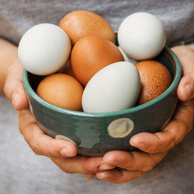 Food & Wine: Are Brown Eggs Healthier Than White?