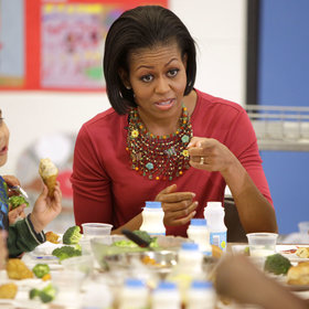 Food & Wine: USDA Rolls Back Michelle Obama's School Lunch Regulations, Allowing More Salt and Fat