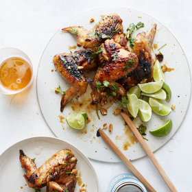 Food & Wine: Ginger-and-Honey Chicken Wings