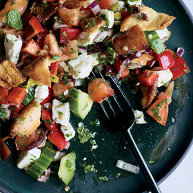 Food & Wine: Greek Salad of Sorts