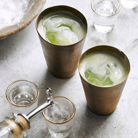 mkgalleryamp; Wine: Green Goddess Sangrita