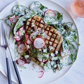 Food & Wine: Grilled Swordfish with Fennel-Olive Relish