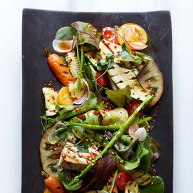 Food & Wine: Grilled Tofu and Heirloom Tomato Salad