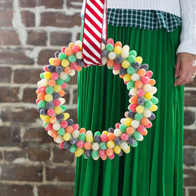 Food & Wine: 10 Candy Wreaths for a Sweeter Christmas