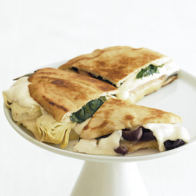Food & Wine: Ham and Artichoke Panini