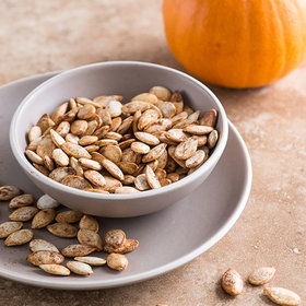 Food & Wine: 10 Ways to Roast Pumpkin Seeds Leftover from Jack-O-Lantern Carving